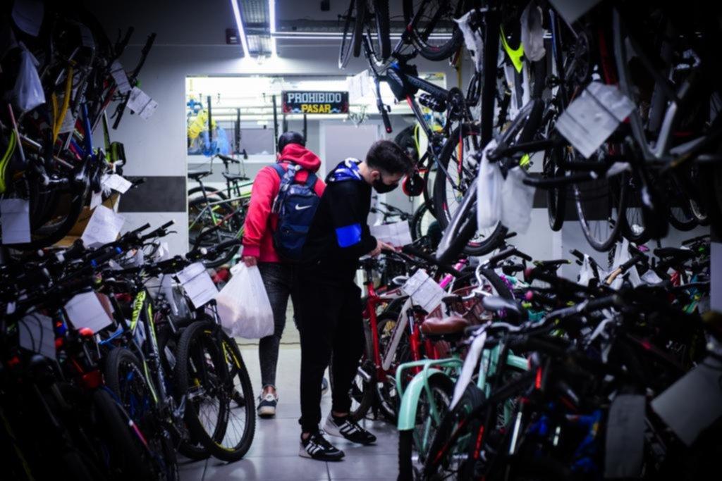 Se sostiene la alta demanda de bicicletas, que no paran de ganar espacio en la Ciudad