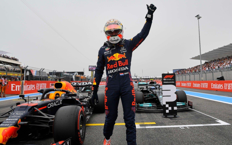 """Fórmula 1: Verstappen sigue imparable y logra la """"pole"""" en Francia"""