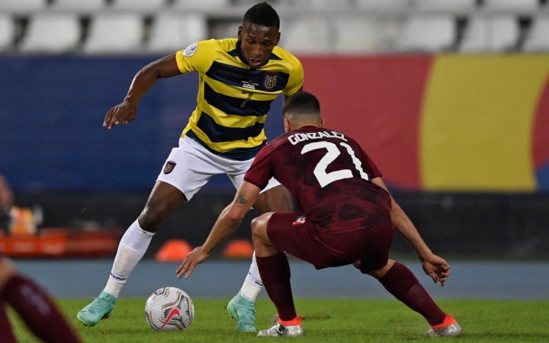 Partidazo en la Copa América: Venezuela le empató sobre la hora 2-2 a Ecuador