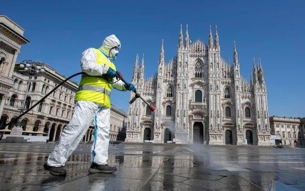 Italia le puso fecha al fin del uso obligatorio del barbijo al aire libre