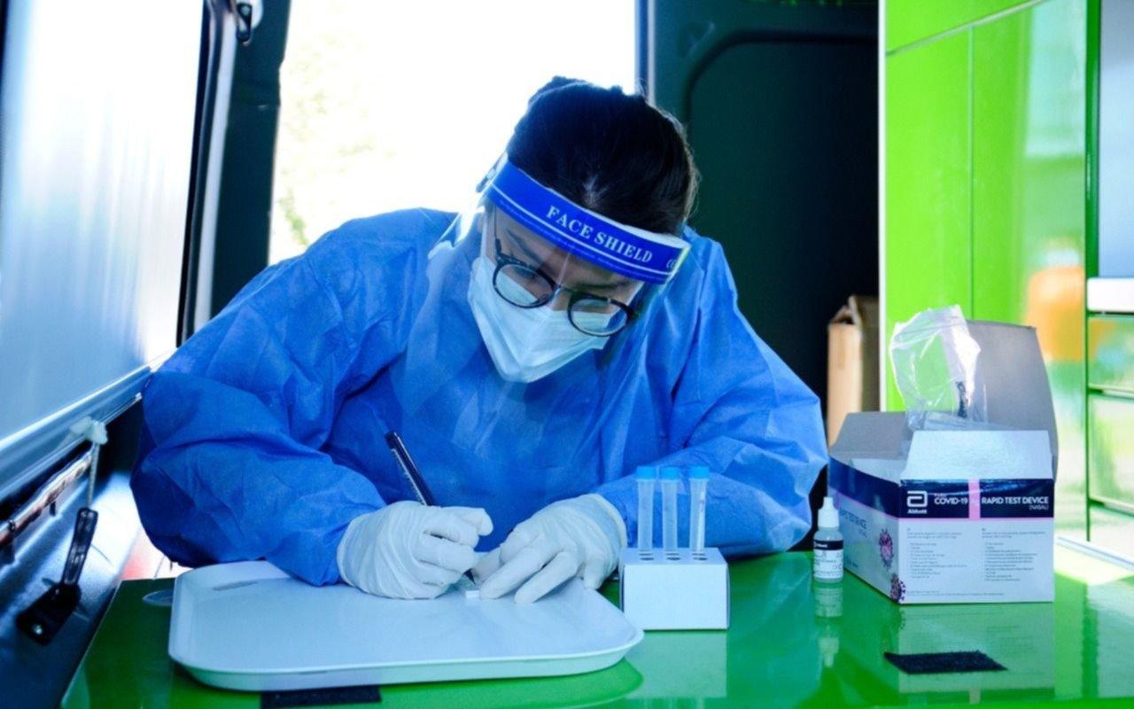 IOMA continúa con los testeos gratuitos en la vía pública