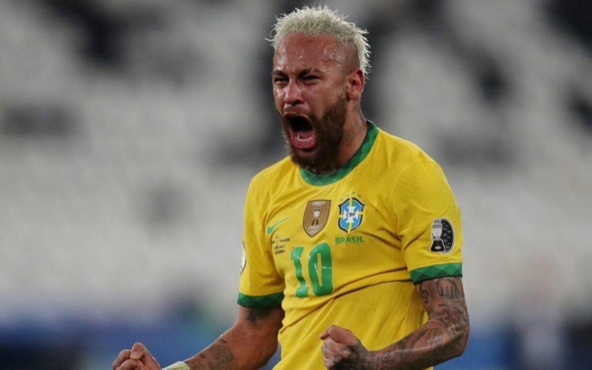 Show de Neymar que se pasó de rosca, gritó desafiante, pegó y también recibió