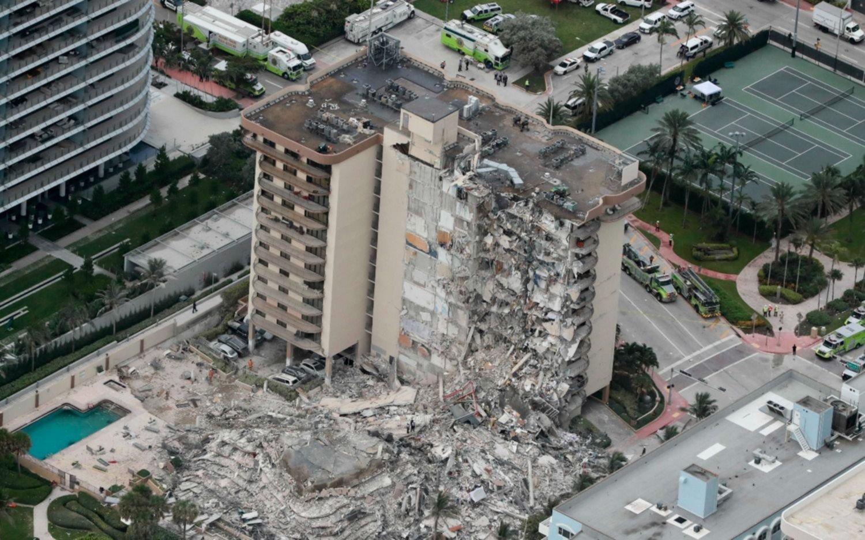 Derrumbe en Miami: asciende a 99 la cifra de desaparecidos, entre ellos 9 argentinos