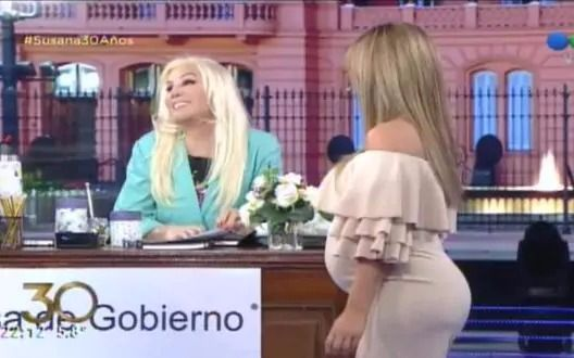Flor Peña le confesó a Susana un  secreto hot de su pareja