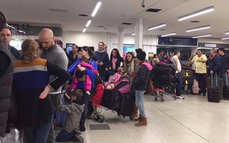 Por una valija abandonadase vivieron momentos de tensión en Aeroparque