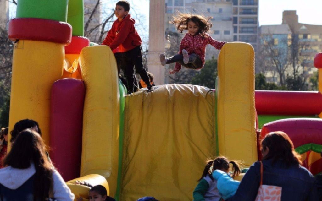 Miles de chicos ya disfrutan de las actividades que el municipio propone para estas vacaciones