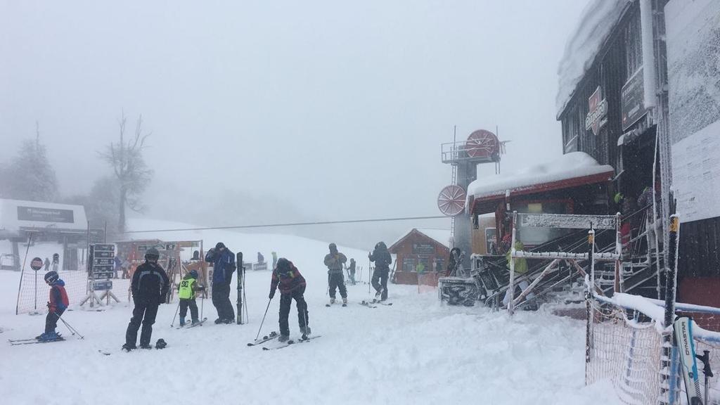 """La nieve hace """"explotar"""" a los centros de esquí"""