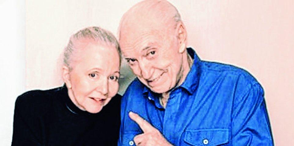 """""""Estamos bien"""": Pinky y Cacho Fontana celebraron el Día del Locutor en el geriátrico"""
