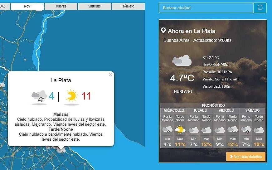 Cómo estará el tiempo este jueves en Tucumán - Actualidad