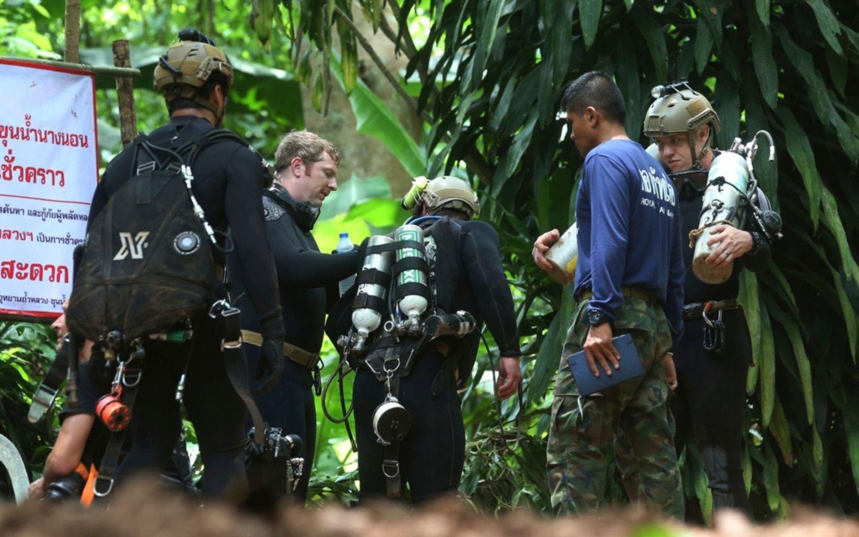 Se complica el rescate de niños atrapados en cueva - Edicion Impresa