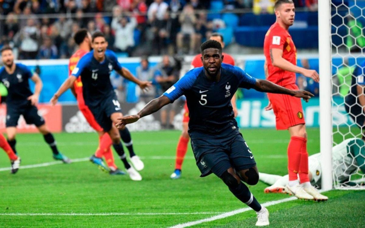 Resultado de imagen para francia gano a belgica