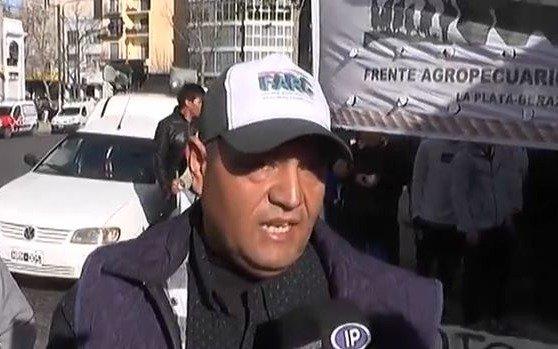 Productores agropecuarios se movilizaron para reclamar subsidios