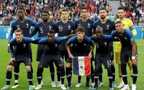 El más supersticioso: En materia de cábalas Francia ya es el campeón