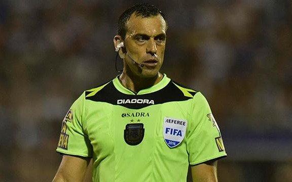 Baliño, el juez con Sportivo Belgrano