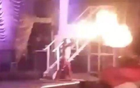 """El """"prontuario"""" de Pity: el día que lanzó llamas en un recital de La Plata"""