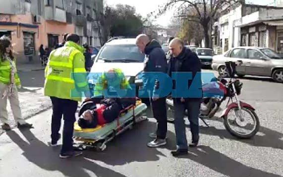 Al menos un herido en otra jornada  accidentada en la Ciudad