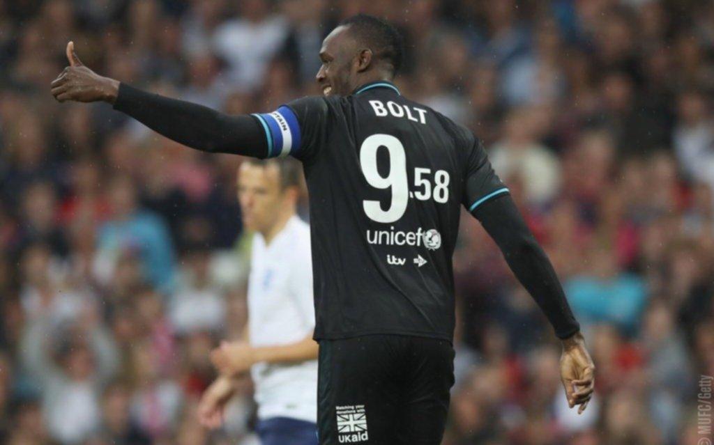 Usain Bolt probará jugar fútbol con un club australiano