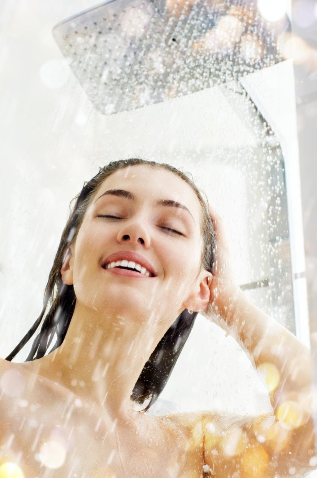 Los secretos para una buena ducha