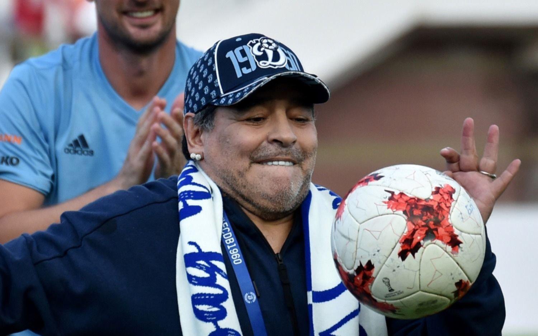 Maradona asume la presidencia del Dínamo de Brest bielorruso