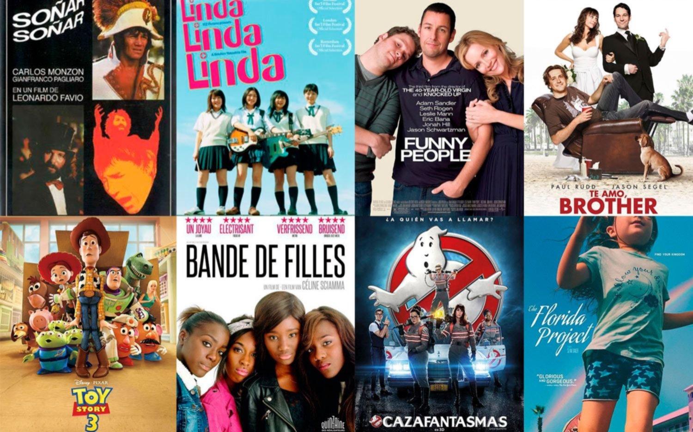 8 películas para ver el Día del Amigo