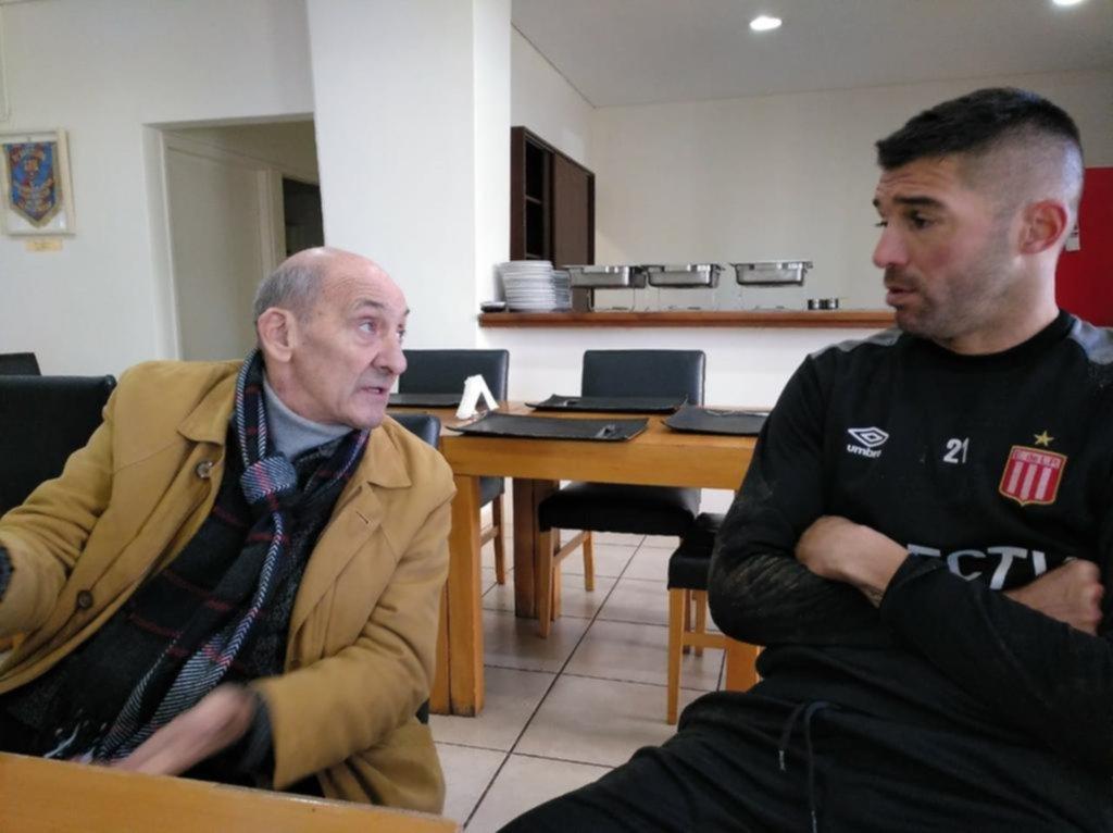 Poletti pasó su cumpleaños en el Country y charló con Andújar