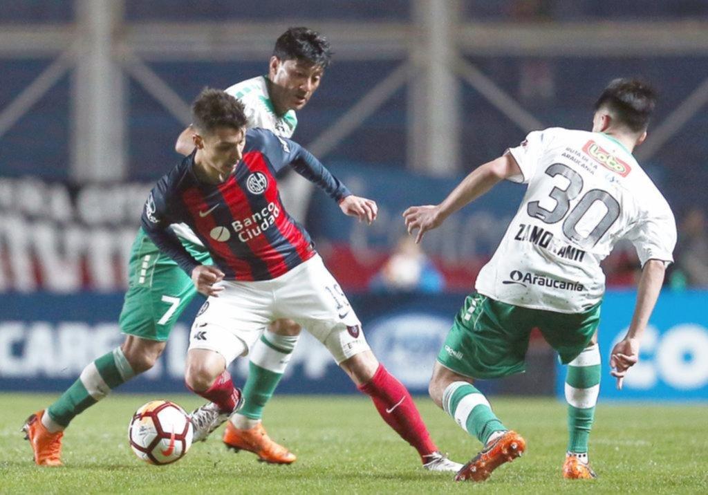 San Lorenzo reclama por el partido ante Deportes Temuco — Copa Sudamericana