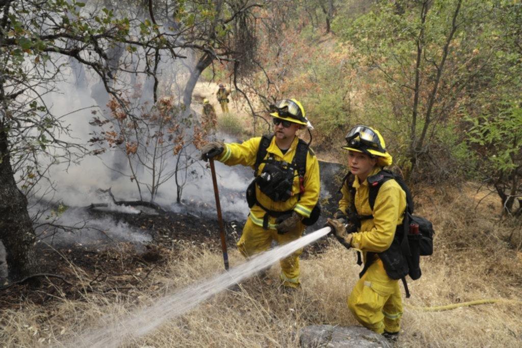 Cinco muertos dejó el incendio de California