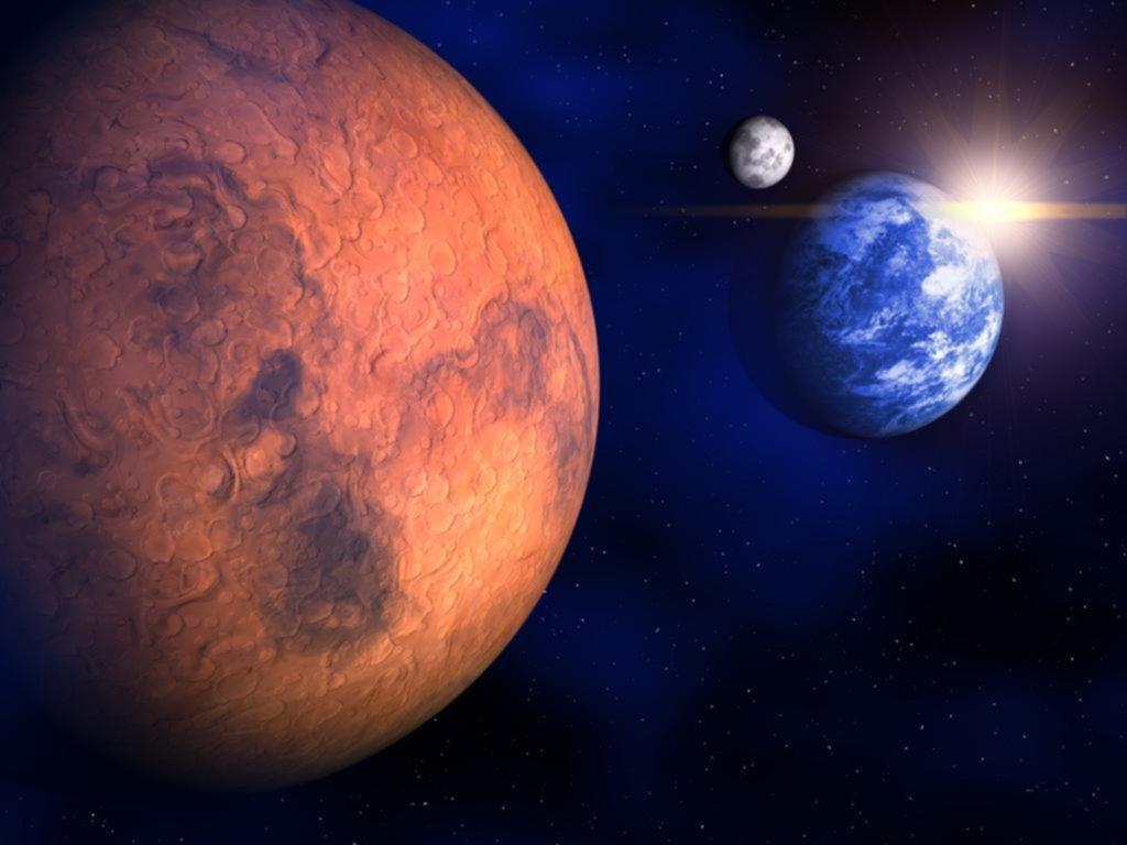 Avistar Marte desde la Tierra, una oportunidad cada 15 años