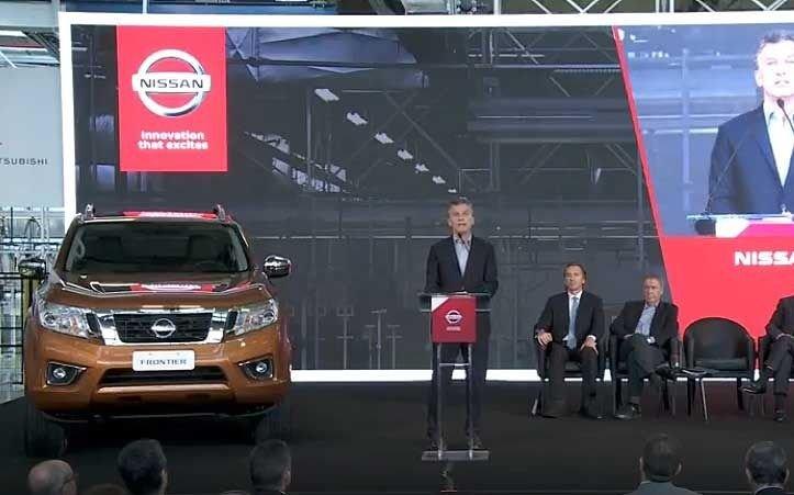 Macri volverá a Córdoba mañana para inaugurar una planta de Nissan - Economía