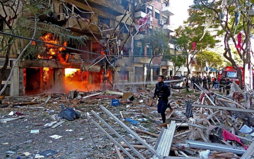 Dictan sentencia por la explosión de un edificio en Rosario que causó 22 muertos