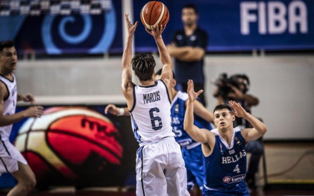 Argentina suma su segunda victoria en el Mundial U19 ante Filipinas
