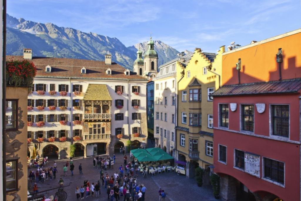 La antigua Innsbruck es un lugar ideal para los jóvenes