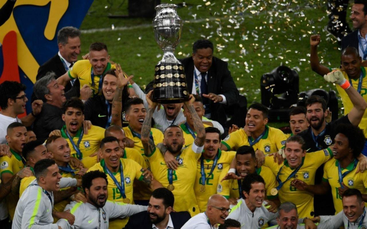 Brasil campeón de la Copa América: el Perú de Gareca lo hizo padecer pero la jerarquía del local pudo más