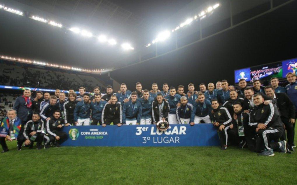 Un solo argentino se metió en el equipo ideal de la Copa América y no es Messi