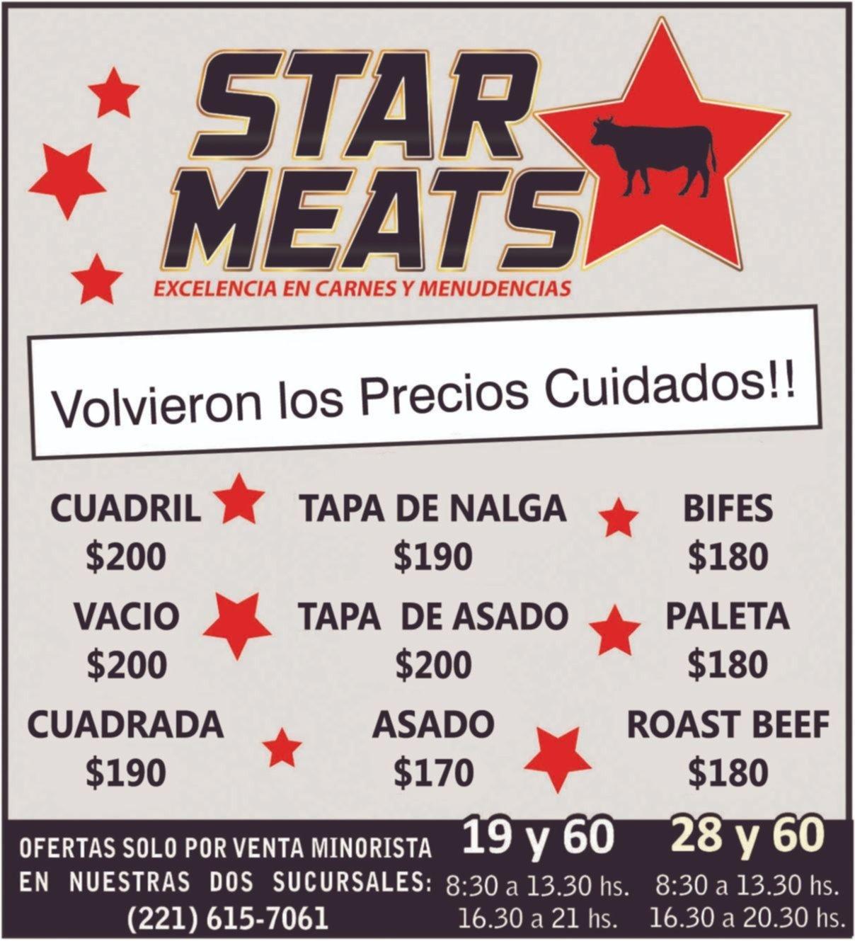 Star Meats te espera con excelencia en carnes y menudencias