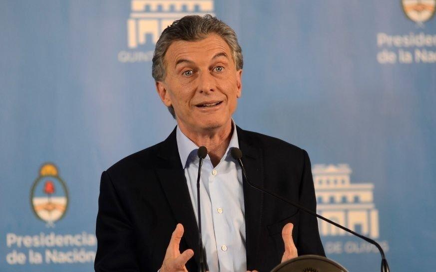 """Macri: la fórmula Fernandez-Fernandez es """"una destrucción de futuro para los argentinos"""""""