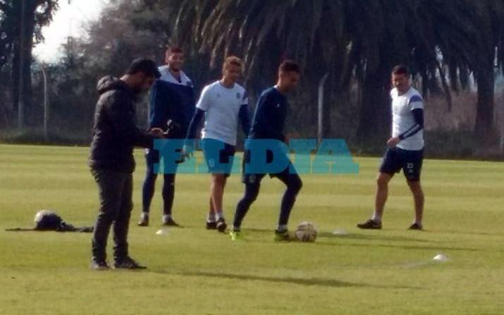"""""""El mejor Velázquez está por venir"""", dijo el delantero tras su primera práctica en Gimnasia"""