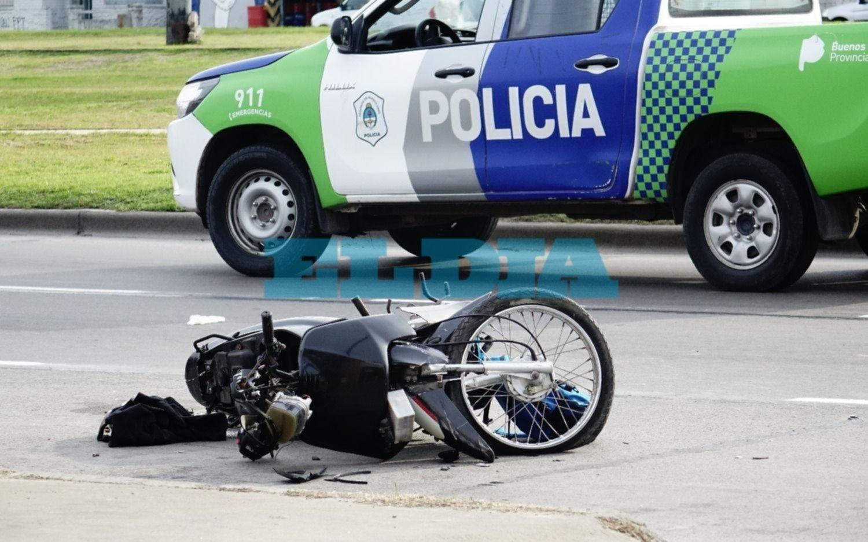 Otro accidente fatal en la Ciudad: murió un motociclista en 7 y 72