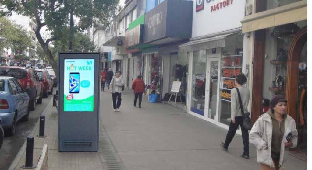 Instalarán cartelería electrónica en el Centenario y los centros comerciales