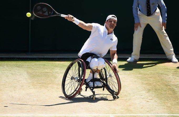 Gustavo Fernández avanza en Wimbledon