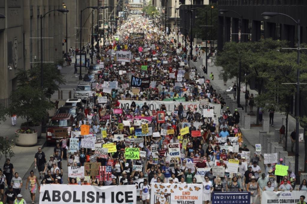 Protestas contra la amenaza de expulsar a los inmigrantes