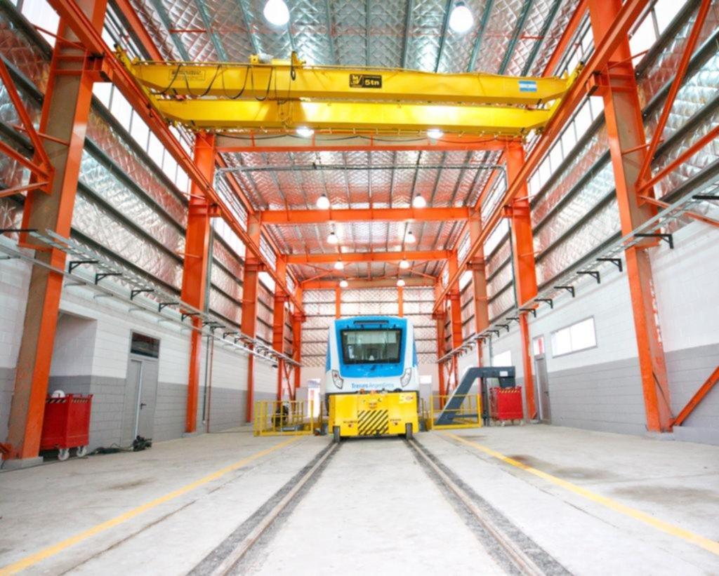 Tolosa renace como polo ferroviario: en los talleres atenderán hasta 30 trenes a la vez