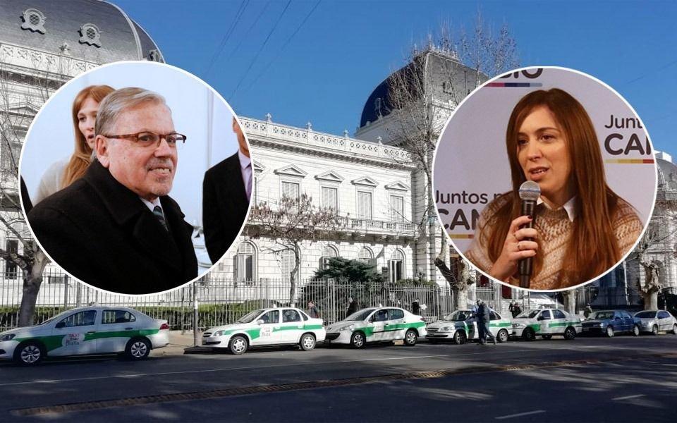 Vidal le respondió a De Lázzari y el presidente de la Suprema Corte buscó bajar la tensión
