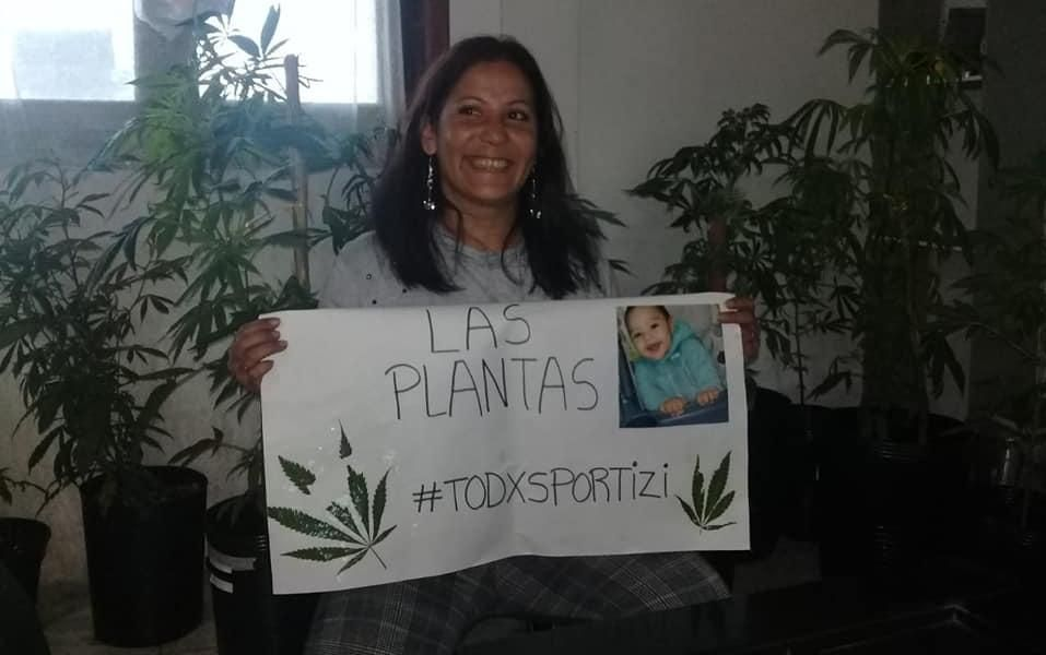 Le devolvieron plantas de cannabis a la abuela que trata a su nieto con el aceite