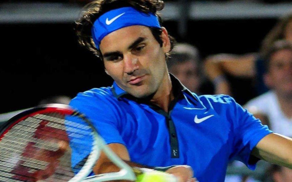 El tenis de fiesta: Federer vendría a la Argentina en noviembre