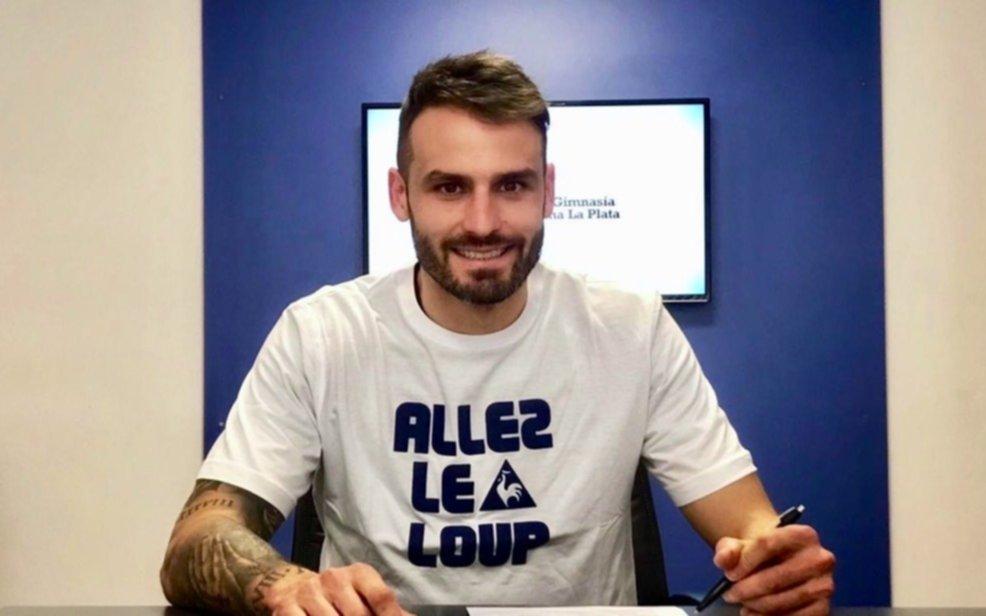 """Torsiglieri firmó por 2 años con Gimnasia: """"Me gustó el club y el proyecto que hay"""""""