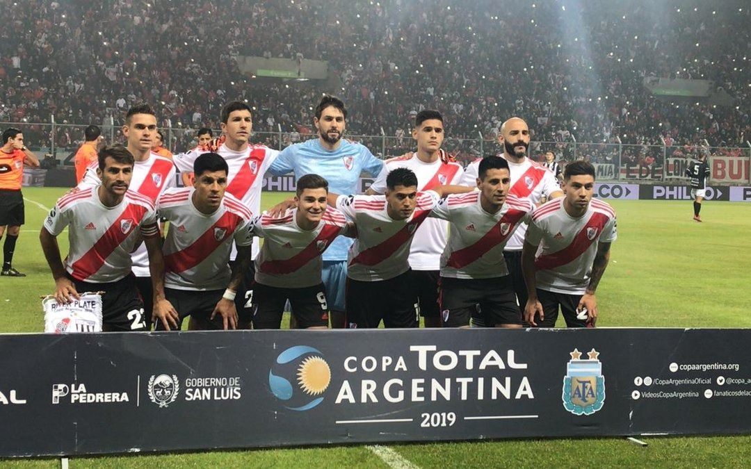 River ganó por penales y eliminó a Gimnasia de Mendoza de la Copa Argentina