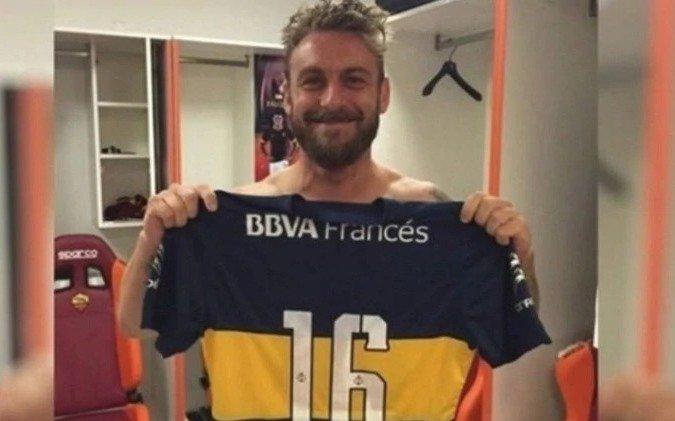 Aseguran que De Rossi llegaría el fin de semana a la Argentina para firmar en Boca