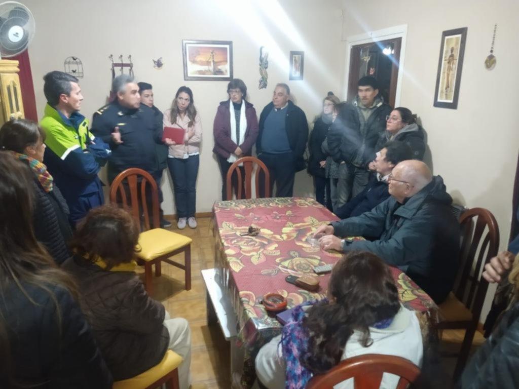 Reunión por la inseguridad en Tolosa