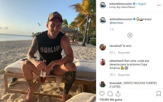 Las lujosas vacaciones de Lio Messi y su familia en un paradisíaco lugar
